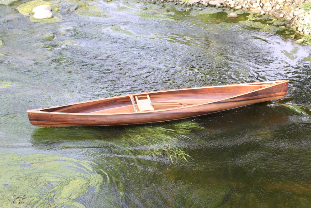 Ashes Solo Day - Cedar Stip Solo Canoe