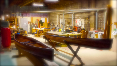 Woodshop with Solo Canoes – 1