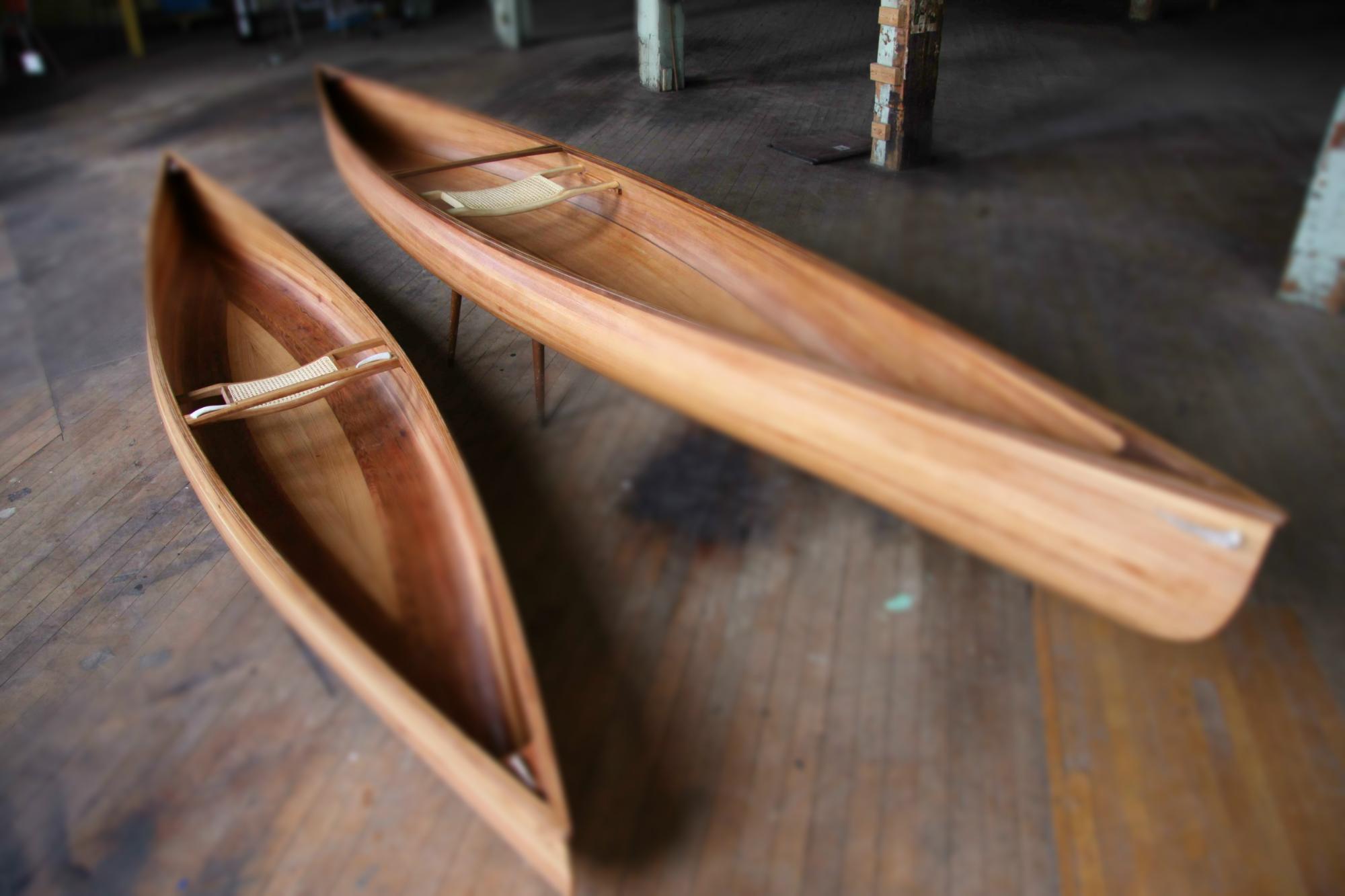 tilt shift canoes