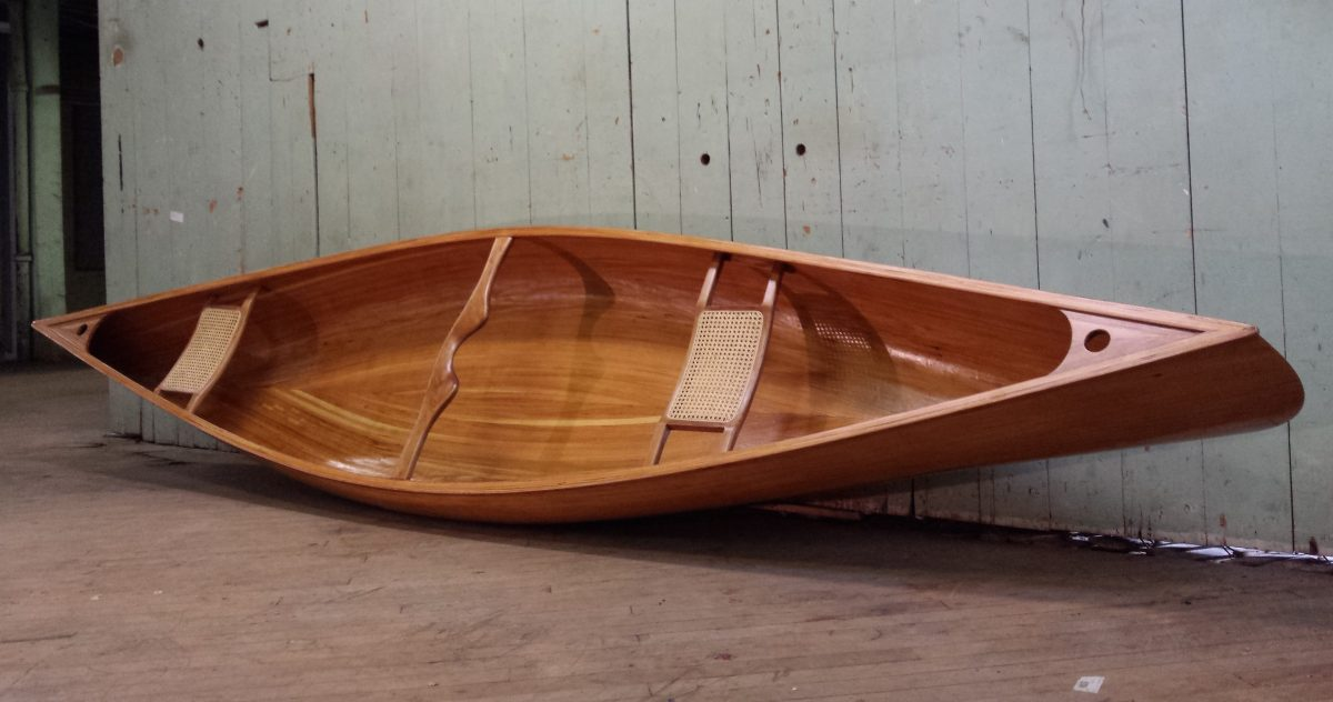Ashes Anglers Special, Tandem Canoe