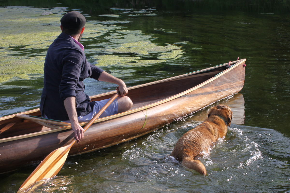 solo canoe ashes still water boats 2
