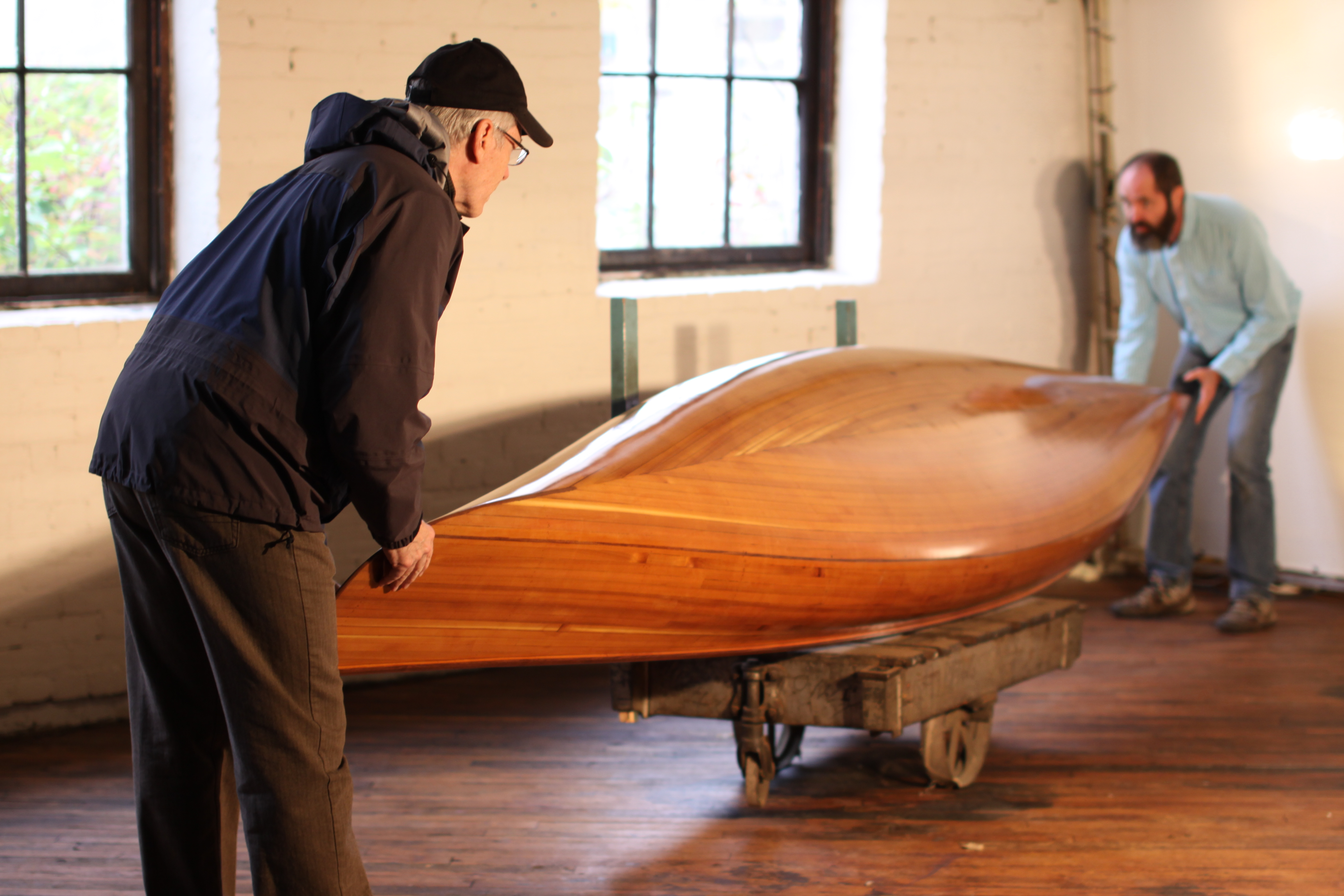 Cedar Strip Canoe – Ashes Still Water Boats