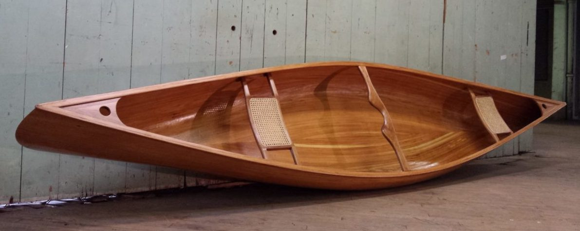 Anglers Special – Cedar Strip Canoe