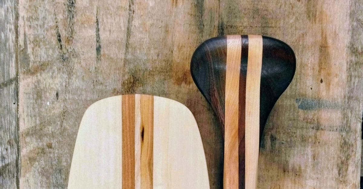 Traditional Paddle Finishes