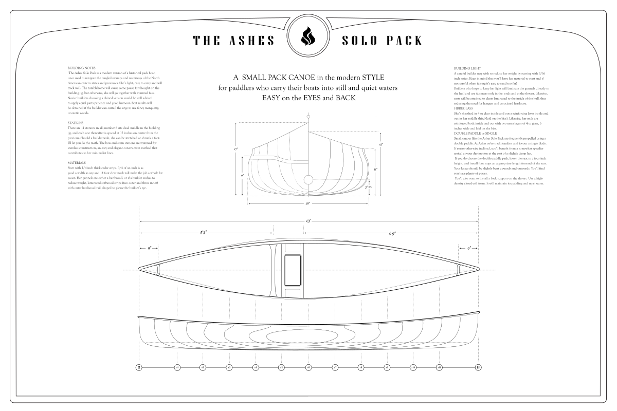 Ashes Solo Pack – Lines Plan