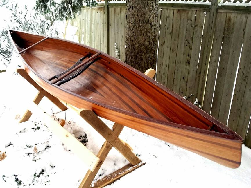 Canoe Plans | The Ashes Solo Day - for Cedar Strip Construction
