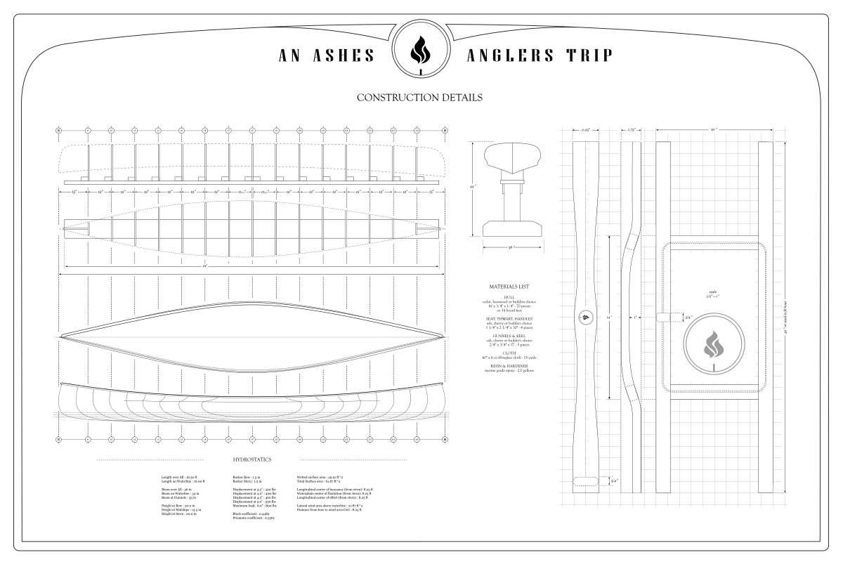 Ashes Anglers Trip – Construction Details – 1200 x 800