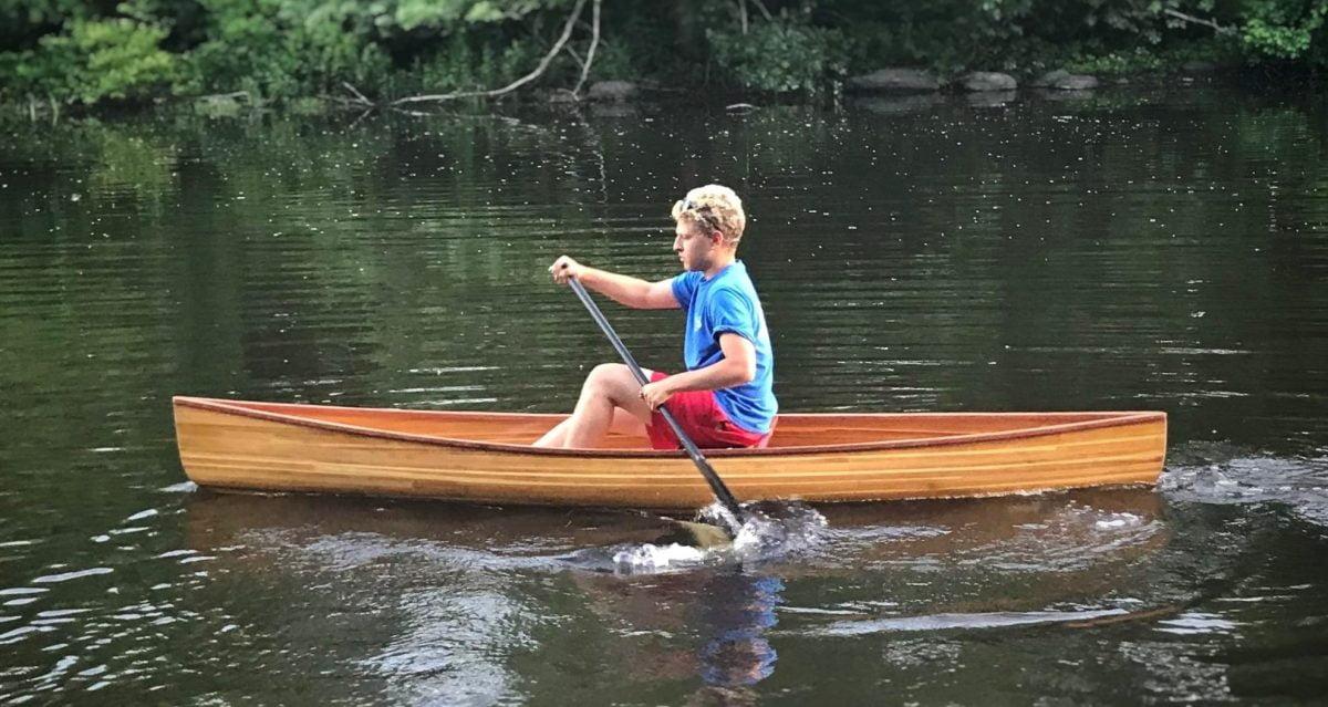 Solo Packette – Cedar Strip Pack Boat by J Elliston – 1200 x 638