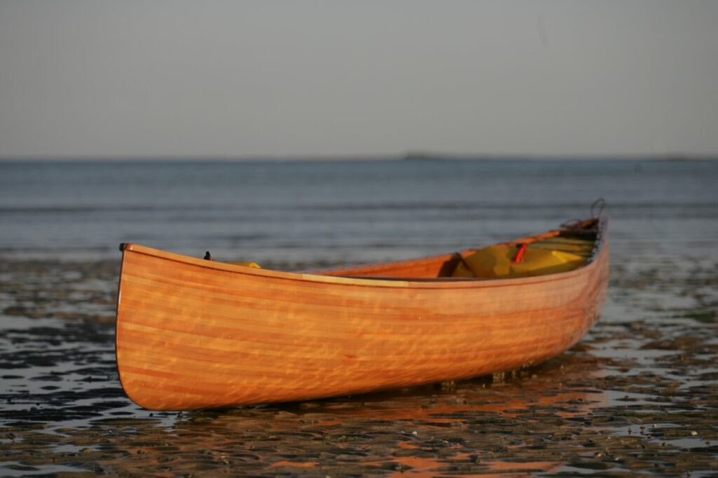 Anglers Trip, 16.5' Cedar Strip Canoe