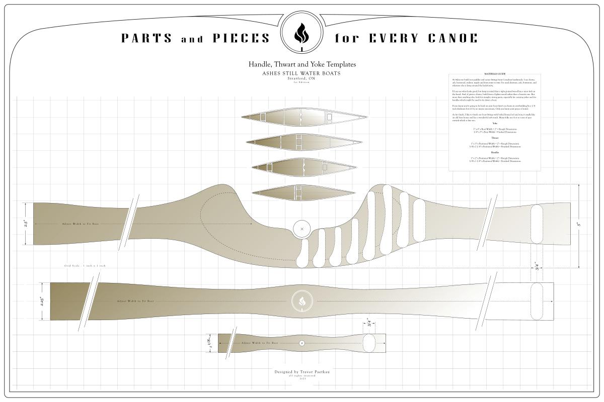 canoe yoke and thwart plans